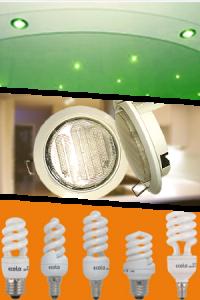 Характеристики  ламп Ecola