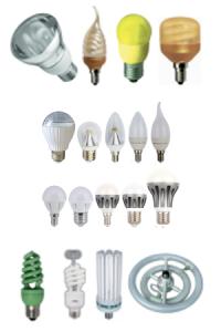 Типы светодиодных ламп Ecola