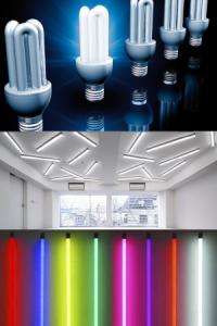 Подключение люминесцентных ламп