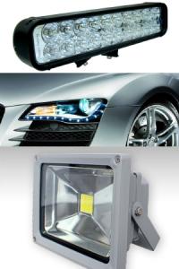 Применение светодиодных фонарей