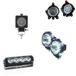 Типы светодиодных фар для дополнительного света