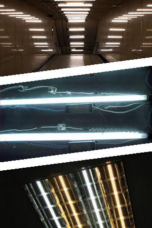 Применение дросселей для люминесцентных ламп