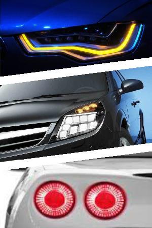 Фары на светодиодах для авто