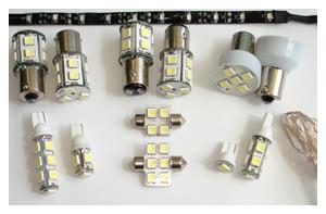 Типы светодиодных ламп для авто