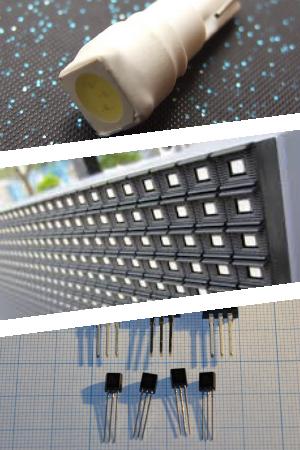 SMD светодиоды, их виды и типы