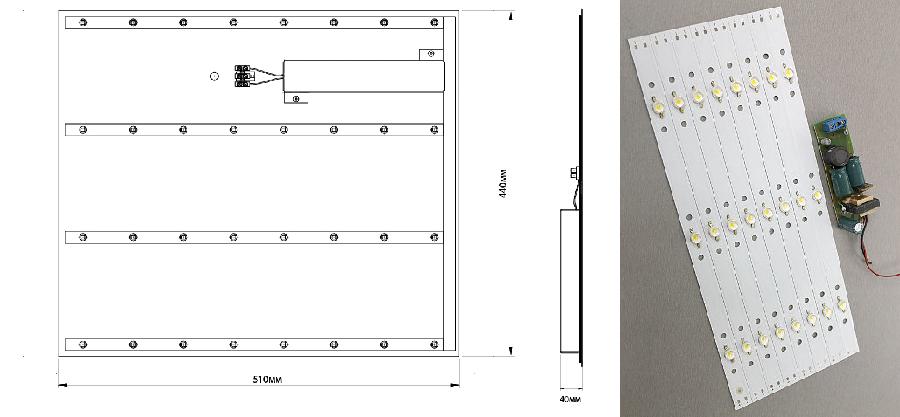 Применения потолочных светильников