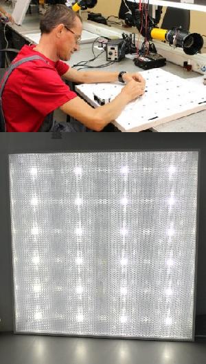 Типы светодиодных потолочных светильников