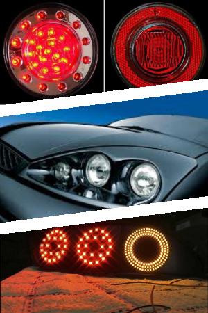 Круглые LED фары