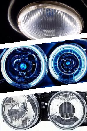 Светодиодные круглые фары и их преимущества