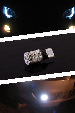 LED лампа  W5W в передние габариты