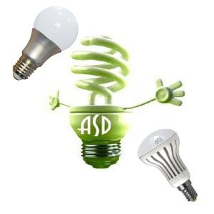 Устройство LED ламп ASD