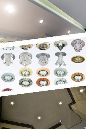 Характеристики светодиодных спотов для потолка