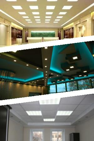 Технические характеристики потолочных светодиодных светильников