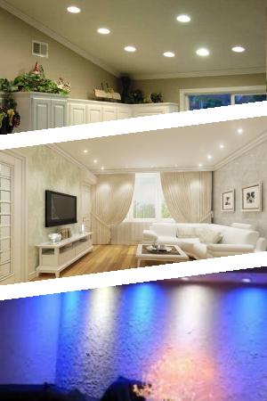 Светодиодные потолочные светильники для дома